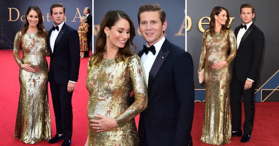 Allen Leech and wife