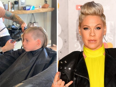 Pink's daughter Willow, 8, gets 'punk rock' shaved haircut just like her mum and it's all kinds of fierce