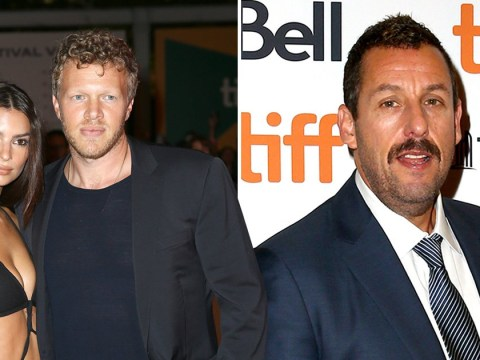 Adam Sandler revels in 100% Rotten Tomatoes rating as he's joined by Emily Ratajkowksi at Uncut Gems premiere