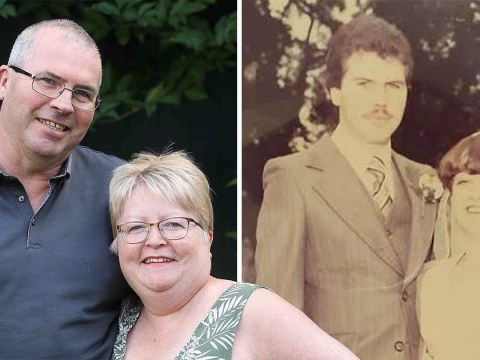 Couple who met at birth celebrate their ruby wedding anniversary