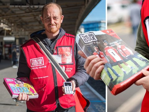 Big Issue sellers start accepting contactless payments