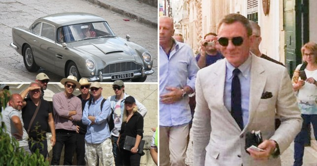 Daniel Craig on James Bond No Time To Die set in Italy