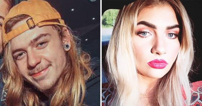 Harry Skilton and Beth Eves, both 21, who died in a car accident near Herons Park caravan site in Lydd, Kent