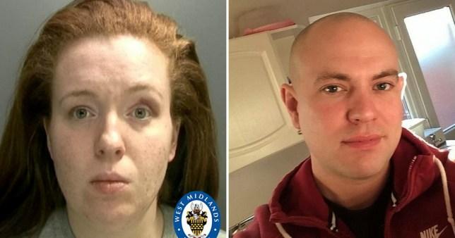 Olivia Labinjo Halcrow was jailed for killing boyfriend Gary Cunningham in Birmingham