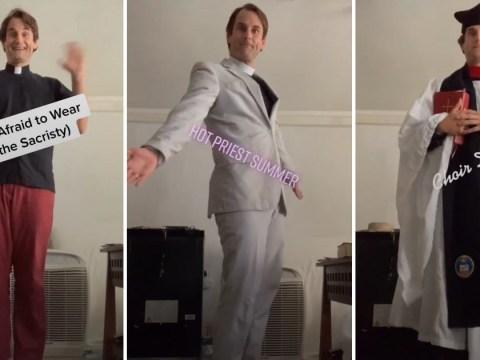 This priest makes the funniest TikTok videos on his 'Jesus stan account'