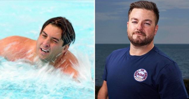 James Argent faces backlash over Alex Brooker comments on Sink Or Swim