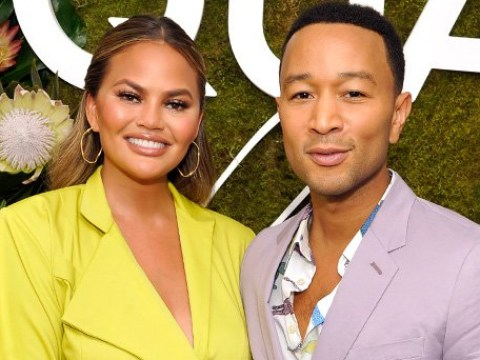 Chrissy Teigen and John Legend get their 'vile' hashtag for Trump trending amid feud