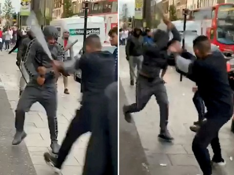 Metal baseball bats used in London duel that descended into mass brawl