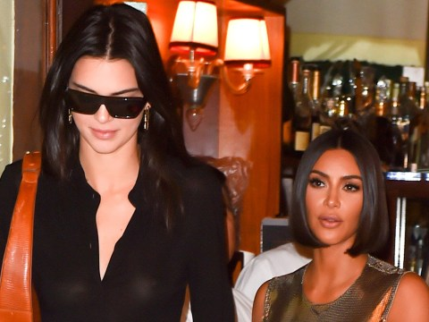 Kim Kardashian puts lupus diagnosis to back of her mind as she joins Kendall Jenner at NYFW