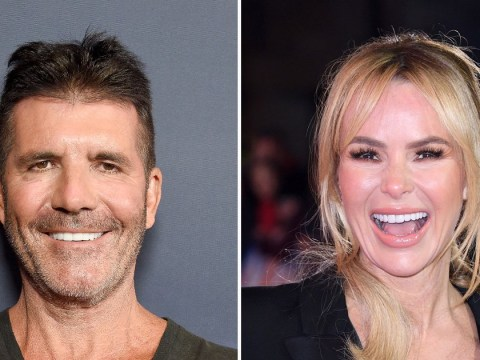 Simon Cowell and Amanda Holden find their 'Botox years' absolutely 'hysterical'