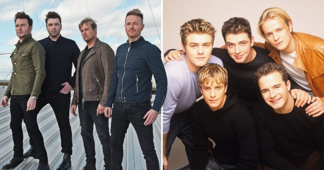 Westlife insist that splitting up in 2012 was the best decision