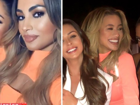 Love Island's Montana Brown and Joanna Chimonides awkwardly end up twinning in the exact same outfit