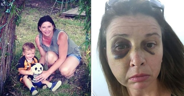 Jemma Palmer was savagely beaten by ex-boyfriend Gareth Ralph in front of their son