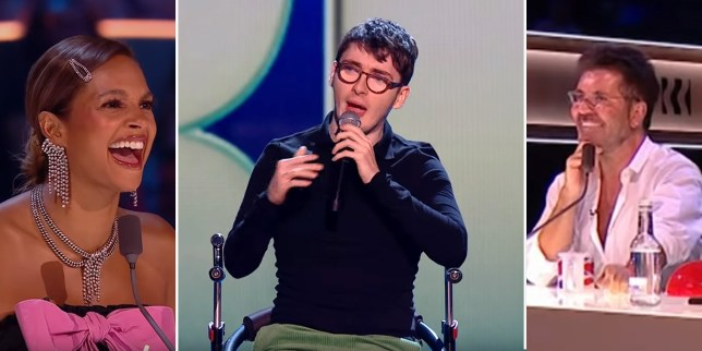 Jack Carroll rips into Simon Cowell and Alesha Dixon
