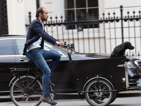 James Middleton and dog Mabel delighted to be reunited with £2,000 stolen bike