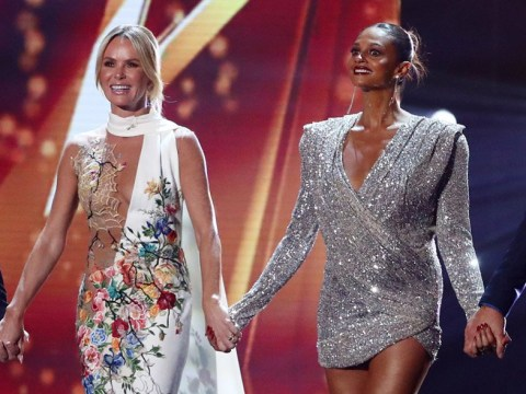 Britain's Got Talent's Amanda Holden 'worried' for pregnant Alesha Dixon during explosive Darcy Oake return