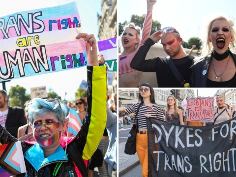 London's first Trans Pride march was 'one day we're not outcasts'