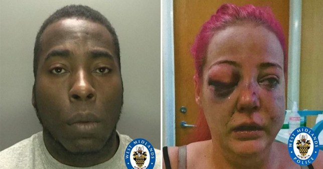 Man smashed girlfriend's head through car windscreen