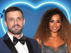 Love Island's Amber Gill and Hollyoaks Jamie Lomas 'swap numbers'