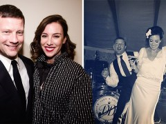 Dermot O'Leary shares rare snap of wedding as he celebrates 7 year anniversary