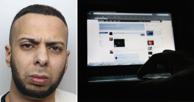 Rotherham child abuser trolled one of his victims on Facebook and Twitter