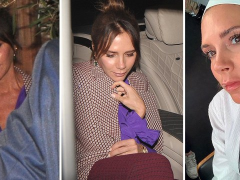 Victoria Beckham looks bright and fresh the morning after celebrating LFW show