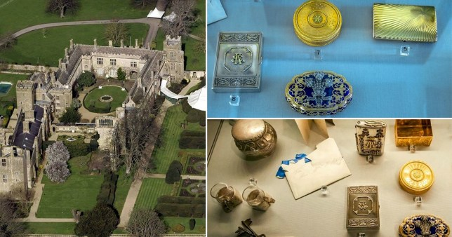 Burglars plunder precious artefacts during raid on Cotswold castle