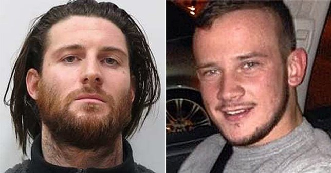 Shane O'Brien, 31, left, is alleged to have killed Josh Hanson, within seconds of meeting him (Picture: PA)