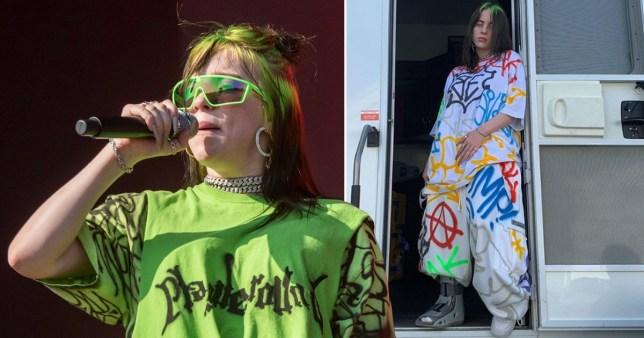 Billie Eilish clothing