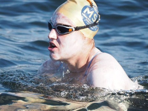 Cancer survivor swims across English Channel four times without stopping