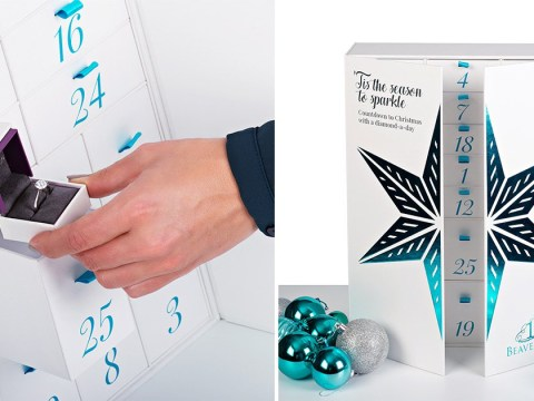 There's now a diamond jewellery advent calendar – but it'll set you back £100,000