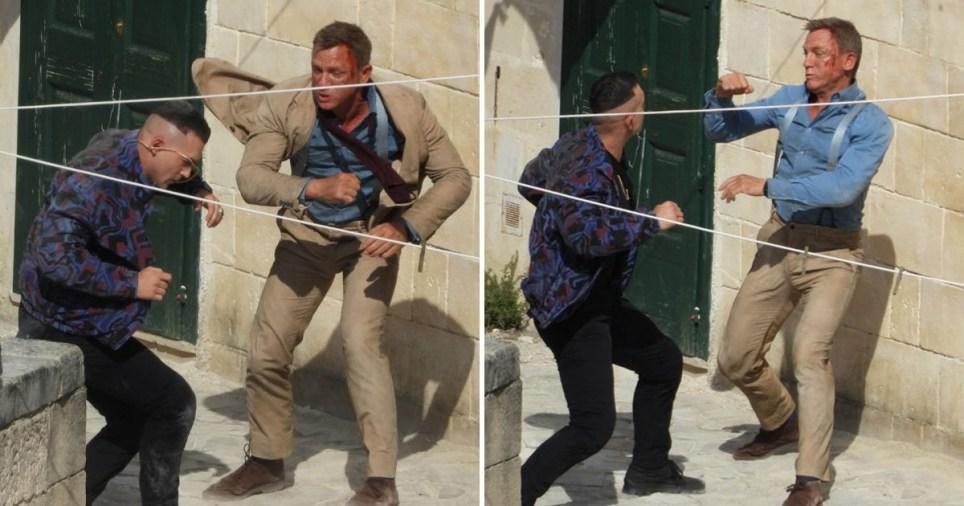 Daniel Craig fight scene