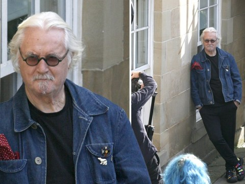 Nothing is going to slow Billy Connolly as he gets back to work amid Parkinson's battle