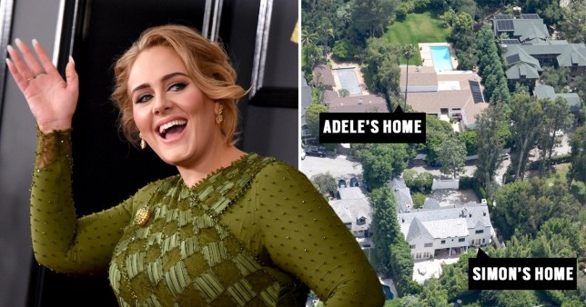Adele buys $10million Beverly Hills property directly opposite ex-husband Simon Konecki's home