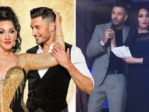 Strictly's Giovanni Pernice calls Michelle Visage 'hard work' and begs fans for the 'sympathy vote'