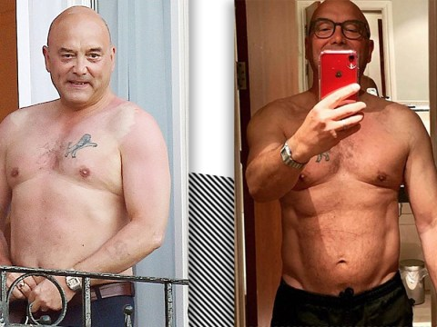 MasterChef's Gregg Wallace shows off weight loss with topless photo as fans brand him 'sexy beast'