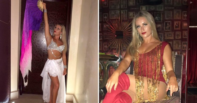 Dancer Elena Smith said she was sacked just two months after starting the job in Marrakesh