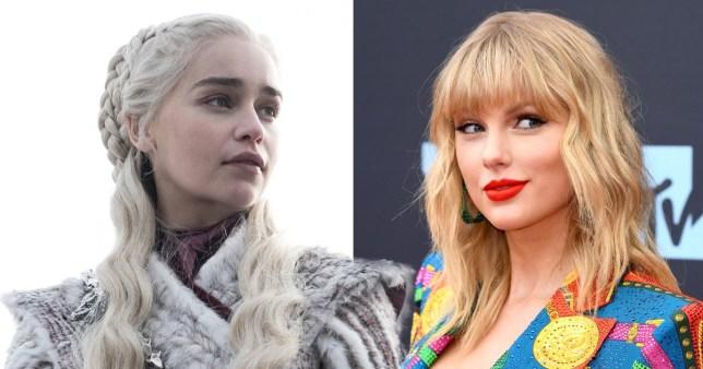 Taylor Swift and Daenerys Targaryen