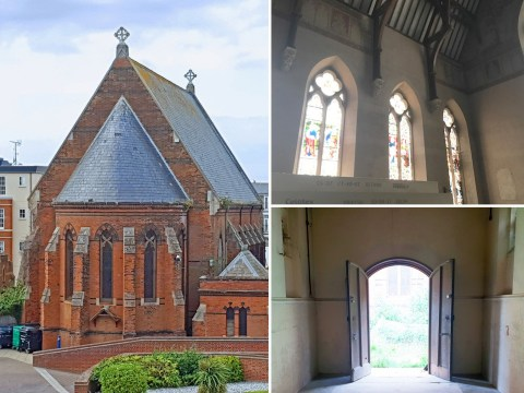 You could live in this epic, eight-bedroom former chapel