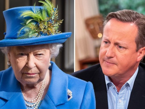 Palace 'displeased' by David Cameron's comments on the Queen