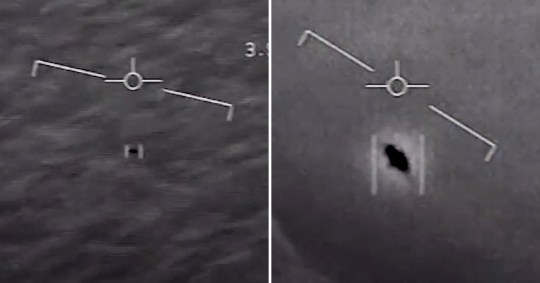 The US Navy has confirmed that UFO footage is real (U.S Department of Defense)