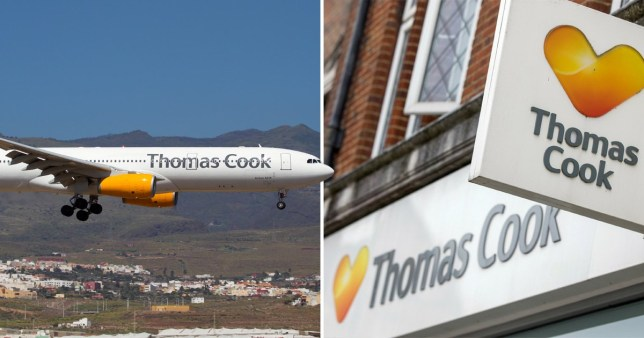Prominent travel agent Thomas Cook could fall into administration in days (Picture: Getty)