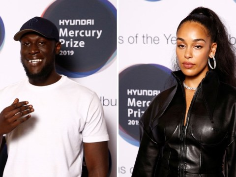 Stormzy and Jorja Smith dodge reporters as they lead red carpet at Hyundai Mercury Prize