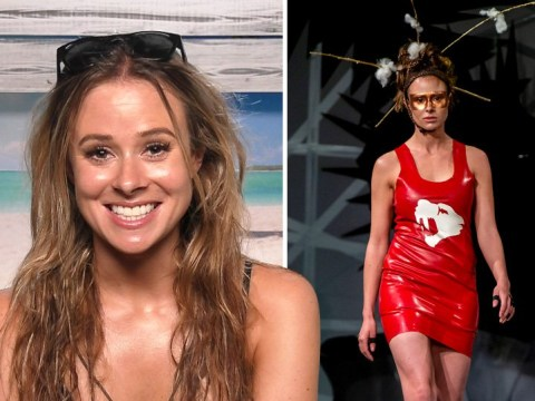 Love Island's Camilla Thurlow is unrecognisable as she makes runway debut for sustainable fashion brand