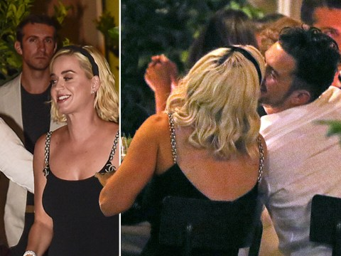 Katy Perry and Orlando Bloom pack on PDA as loved-up couple celebrate Misha Nonoo's pre-wedding dinner