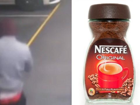 Man fends off carjacker with a jar of Nescafe Gold Blend