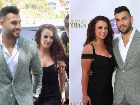 Britney Spears flees red carpet honouring boyfriend Sam Asghari less than 60 seconds after arriving