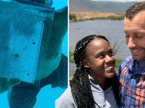 Man drowns while proposing to girlfriend underwater