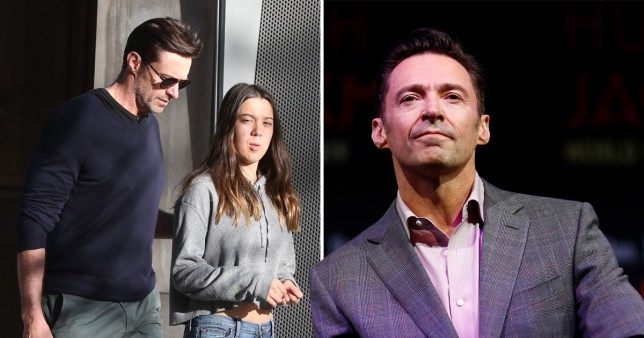 Hugh Jackman's been banned from his daughter's school because he keeps getting mobbed
