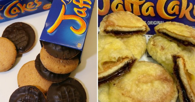 Chip shop is making deep fried Jaffa Cakes and we're not sure how to feel